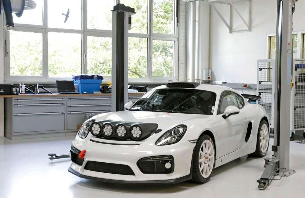 Cayman GT4, samochód, rajd, koncept, pomysł, Cayman GT4, Cayman, GT4, Porsche