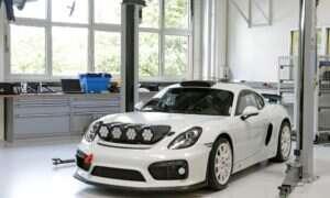 Porsche prezentuje Cayman GT4 Clubsport w rajdowym wydaniu