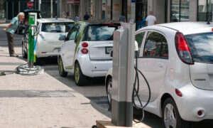 Samochody elektryczne są coraz popularniejsze w Europie