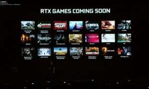Oto 21 gier, które otrzymają wsparcie dla Nvidia RTX