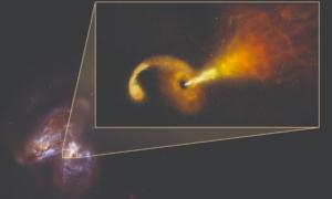 Czarne dziury ożywiają martwe gwiazdy