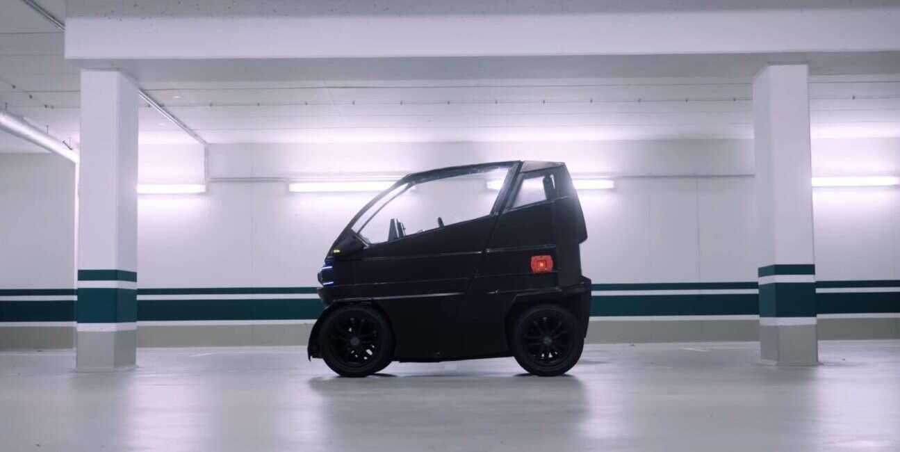 iEV X, samochód, elektryczność, iEV, rozkładany pojazd, smart