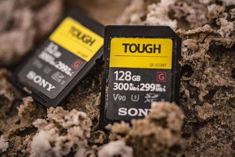 Sony, karta pamięci, SD, TOUGH, SD TOUGH, pojemność, cena, wydajność