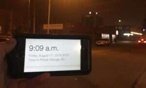 Przez pożary w Kanadzie dzień stał się nocą