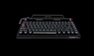 Capcom stworzył klawiaturę w stylu maszyny do pisania z okazji Resident Evil 2