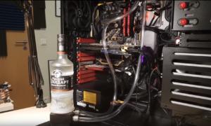 Co powiecie na komputer chłodzony wódką?