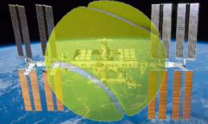 Ten mecz tenisa na Międzynarodowej Stacji Kosmicznej nie wypadł najlepiej