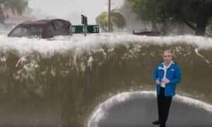 Niesamowita animacja ukazuje efekty jakie wywołać może huragan Florence