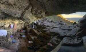Ten rysunek z epoki kamienia pochodzi sprzed ponad 70 tysięcy lat