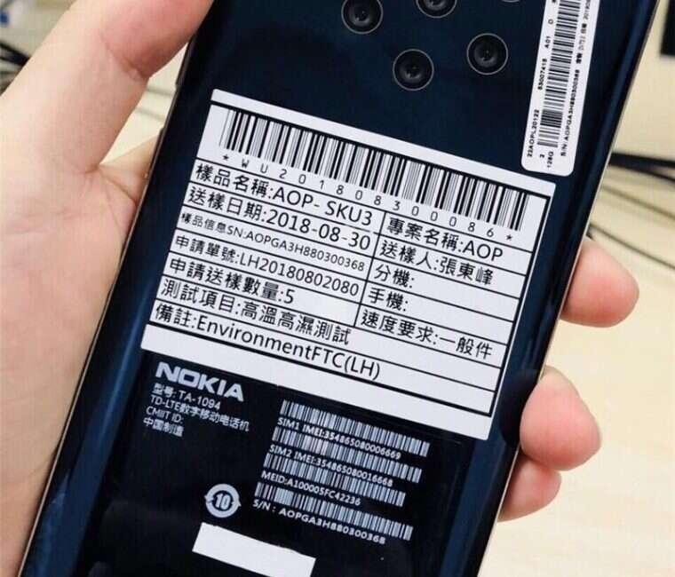 Nokia smartfon