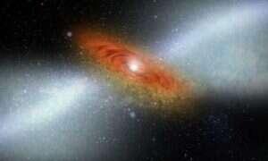 South Pole Telescope uchwycił galaktyczny wiatr pochodzący z okresu wczesnego Wszechświata