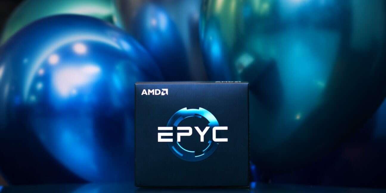 64-rdzeniowy EPYC, EPYC, 64 rdzenie, procesor, CPU, AMD, EPYC Rome, Rome, Cinebench, test
