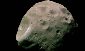 Księżyc Marsa – Fobos powstał prawdopodobnie na skutek kolizji