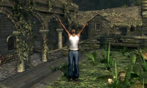 Hej CJ! Co robisz w Dark Souls?!
