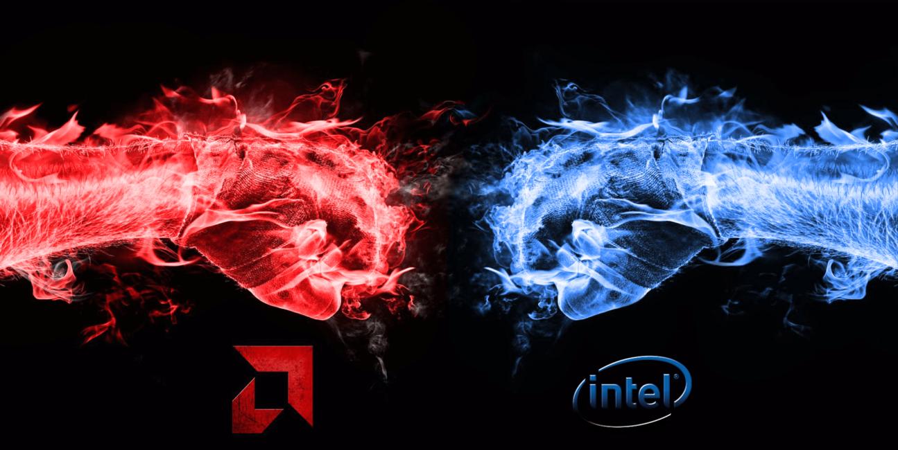 Intel, CPU, AMD, procesor, Ryzen, Intel Core, rynek, rynek procesorów, rynek CPU,