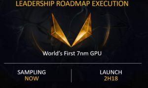 AMD Vega 20 z konfiguracją mutliGPU przez PCIe 4.0