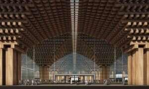 We wnętrzu tego lotniska znajdzie się ogromny, tropikalny las