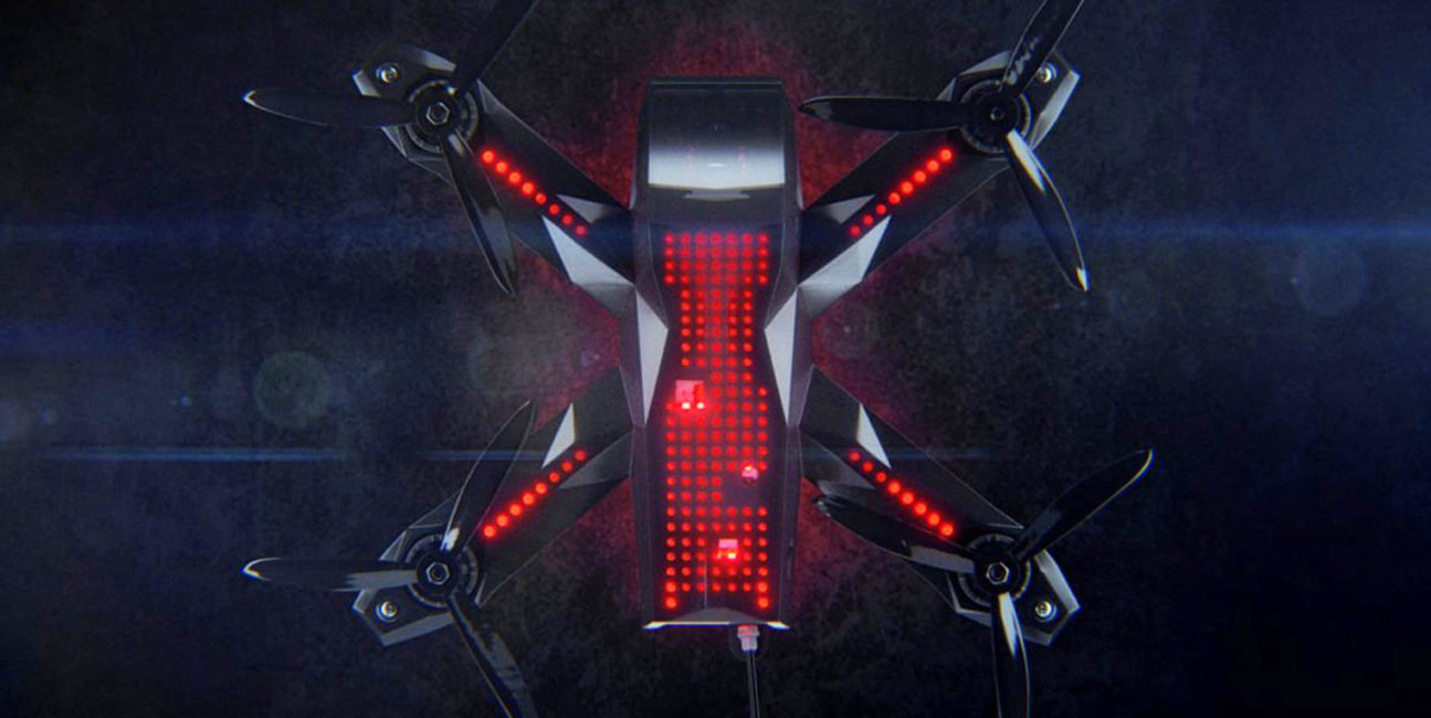 autonomicznych dronów, dron, SI, Nvidia, AlphaPilot Innovation Challenge, Alpha Pilot, Lockheed