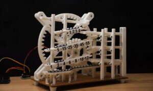 Zobaczcie  ten świetny wydrukowany w 3D zegar