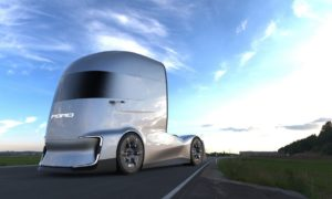 Ford przedstawia elektryczną i autonomiczną ciężarówkę F-Vision