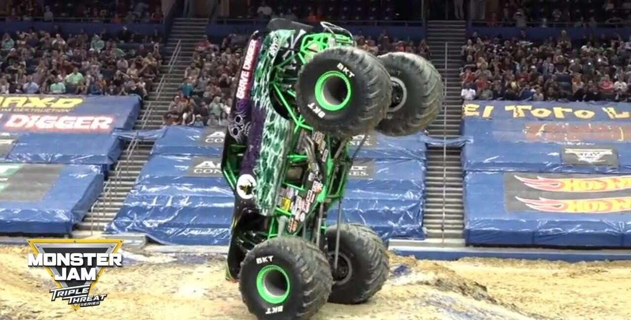 Monster Truck, trucki, pokaz, Monster Jam, Tyler Menning