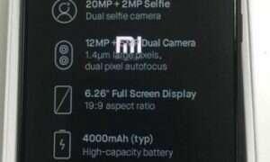 Xiaomi Redmi Note 6 Pro na pierwszym filmie