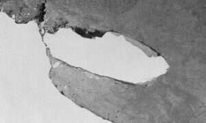 Ogromna góra lodowa A68 wypłynęła w morze