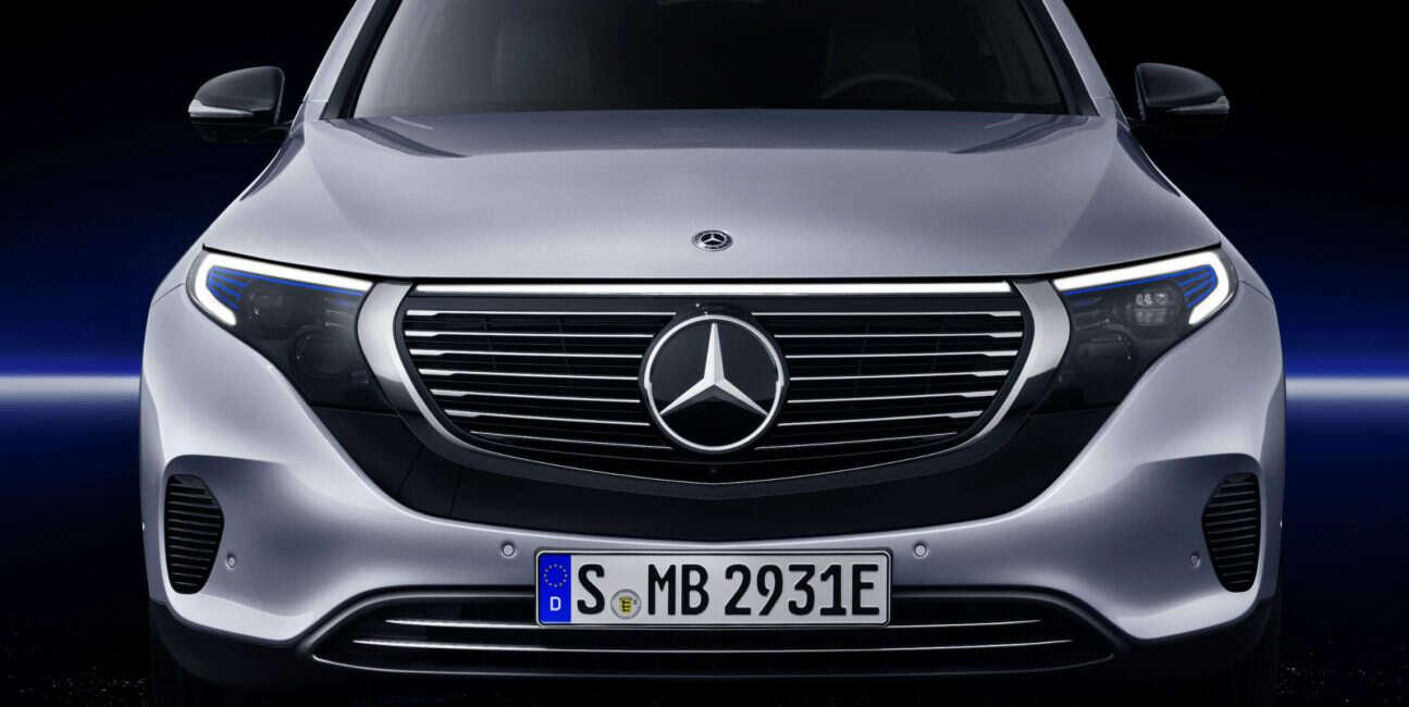 Mercedes, EQC, EQ, Mercedes EQC, samochód elektryczny, premiera, EV, szczegóły