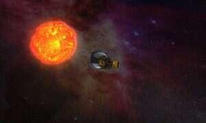 Parker Solar Probe przesłała pierwsze zdjęcie w drodze na Słońce