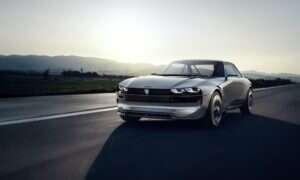 Peugeot e-LEGEND łączy klasykę z nowoczesnością