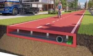 Holendrzy stworzyli ścieżkę rowerową z przetworzonego plastiku