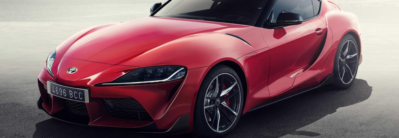Toyota, Supra, 2019, Toyota Supra 2019, 2019 Supra, samochód, wygląd, rendery