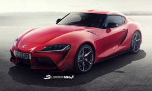 Prawdopodobny wygląd 2019 Toyota Supra