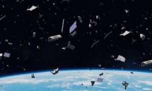 Wiązki jonów nowym sposobem na walkę z kosmicznymi śmieciami