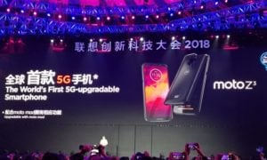 Moto Z3 – pierwszy smartfon z 5G