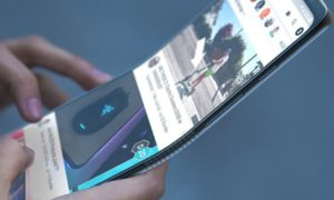 Samsung może jako pierwszy zaprezentować zginane telefony