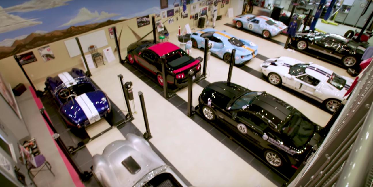 Ford, kolekcja, supersamochody, Angelo, GT, Mustang, Shelby