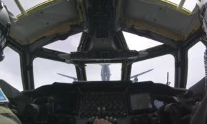 Zobaczcie startujący bombowiec B-52