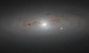Teleskop Hubble'a sfotografował niezwykle odległą galaktykę NGC 4036