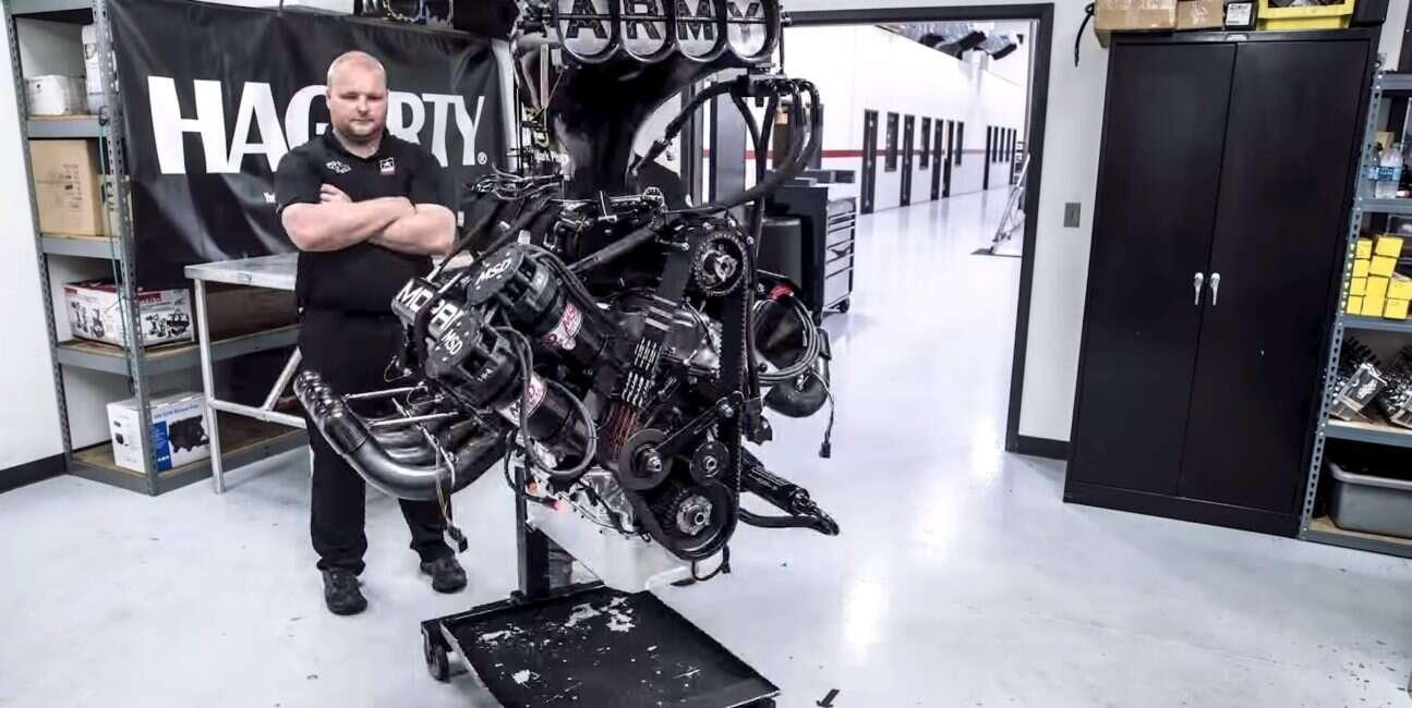 11000 koni mechanicznych, silnik, renowacja, dragster, timelaps, renowacja silnika,
