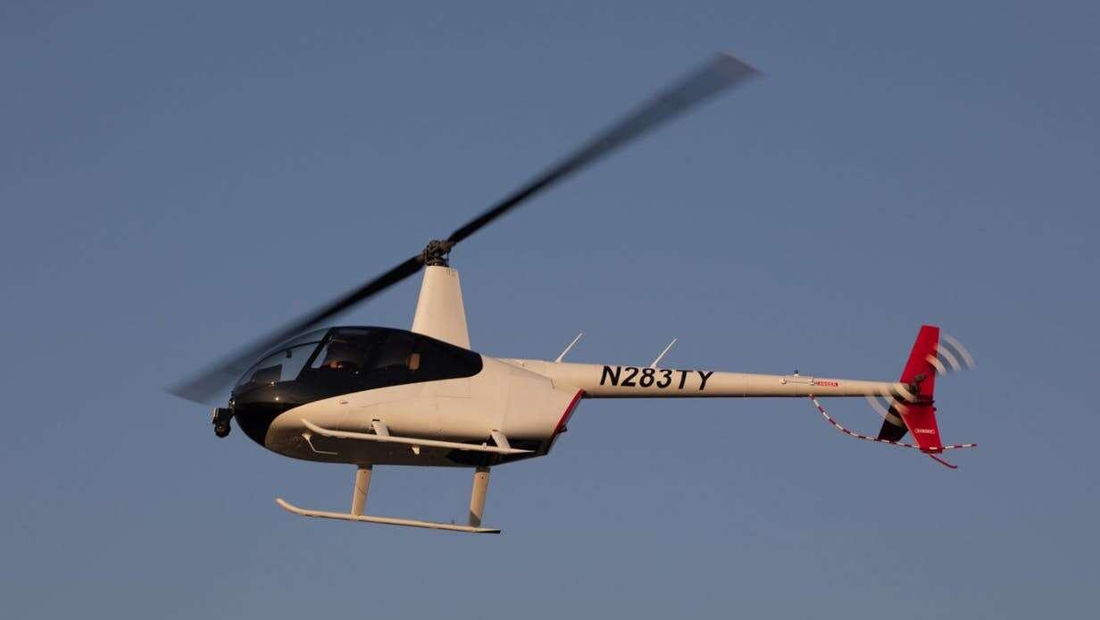 autonomiczny helikopter, SkyRyse, helikopter, autonomiczny