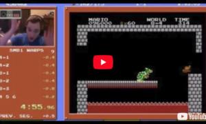 Nowy rekord przejścia gry Super Mario