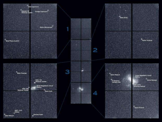 TESS - nowy teleskop NASA wykonał swoje pierwsze zdjęcie