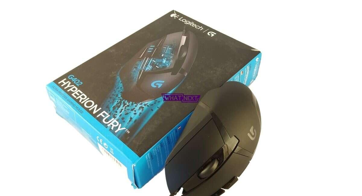 Logitech G402 Hyperion Fury, G402, G,402, Logitech, myszka, test, recenzja, opinia, wrażenia, czy warto, G402 Hyperion Fury