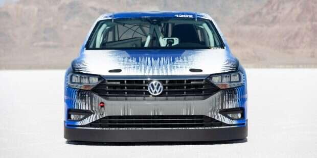 Volkswagen, Volkswagen Jetta 2019, Jetta, Jetta 2019, Salt Flats, rekord, rekord prędkości, Bonnevile,
