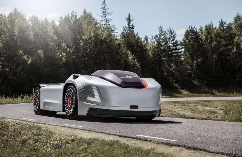 Volvo, Vera, autonomiczna ciężarówka, koncept, koncept Vera, przyszłość, elektryczny silnik, transport