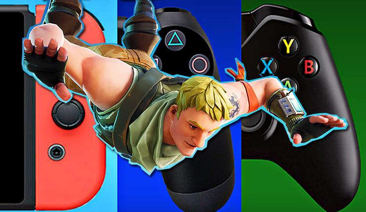 Sony, Epic Games, Fortnite, crossplay, multiplatformowość, cross, PlayStation 4, Xbox One, PC, Switch