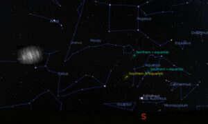 Astronomowie być może odkryli pyłowy księżyc-widmo