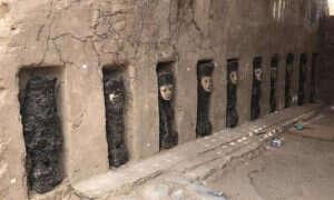 Na terenie Peru znaleziono 750-letnie bożki, które noszą maski