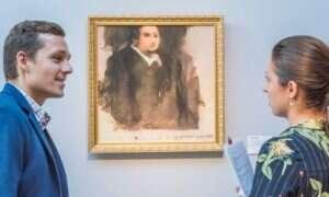 Portret stworzony przez sztuczną inteligencję sprzedano za ogromną kwotę